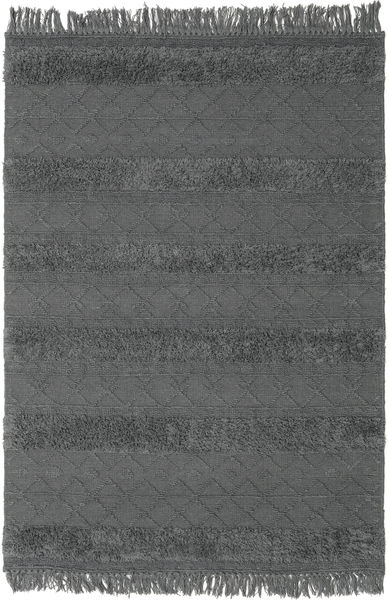 Kelim Berber Ibiza - Soft Grey Matto 160X230 Moderni Käsinkudottu Musta/Tummanharmaa (Villa, Intia)
