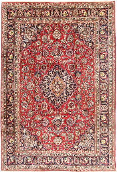 Mashad Matto 239X342 Itämainen Käsinsolmittu Ruskea/Beige (Villa, Persia/Iran)