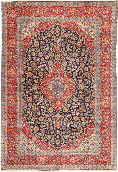 Keshan Matto 295X432 Itämainen Käsinsolmittu Vaaleanruskea/Ruoste Isot (Villa, Persia/Iran)