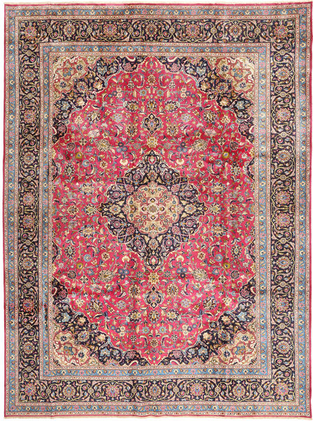 Kashmar Matto 288X388 Itämainen Käsinsolmittu Ruoste/Beige Isot (Villa, Persia/Iran)