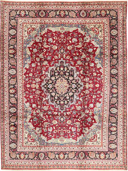 Mashad Matto 248X334 Itämainen Käsinsolmittu Ruskea/Beige (Villa, Persia/Iran)