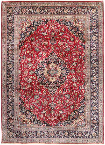 Kashmar Matto 290X405 Itämainen Käsinsolmittu Tummanharmaa/Vaaleanharmaa Isot (Villa, Persia/Iran)
