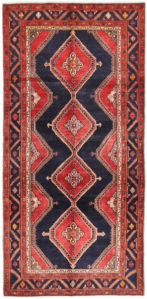 Koliai Matto 151X310 Itämainen Käsinsolmittu Käytävämatto Tummanpunainen/Tummanvioletti (Villa, Persia/Iran)