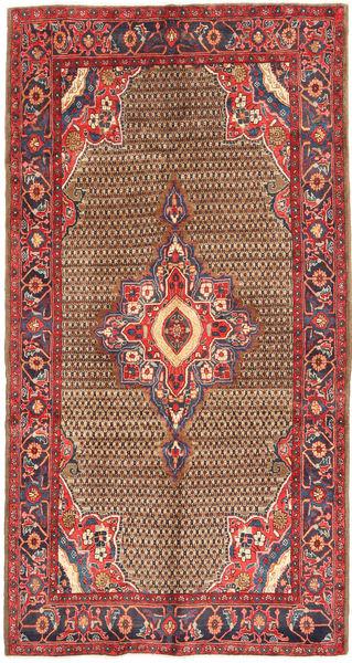 Koliai Matto 155X300 Itämainen Käsinsolmittu Käytävämatto Tummanpunainen/Ruoste (Villa, Persia/Iran)