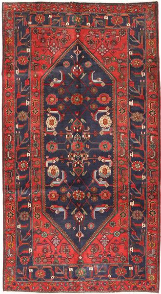 Koliai Matto 161X296 Itämainen Käsinsolmittu Käytävämatto Tummanpunainen/Tummanharmaa (Villa, Persia/Iran)