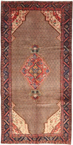 Koliai Matto 155X320 Itämainen Käsinsolmittu Tummanpunainen/Tummanruskea/Ruskea (Villa, Persia/Iran)