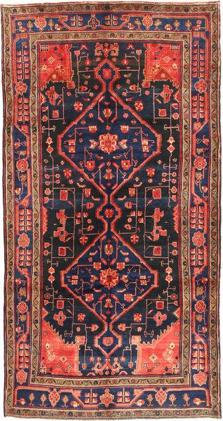 Koliai Matto 160X304 Itämainen Käsinsolmittu Käytävämatto Tummanpunainen/Musta (Villa, Persia/Iran)