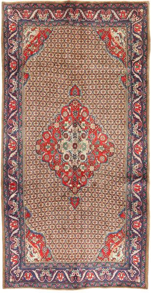 Koliai Matto 157X304 Itämainen Käsinsolmittu Käytävämatto Tummanpunainen/Tummanruskea (Villa, Persia/Iran)