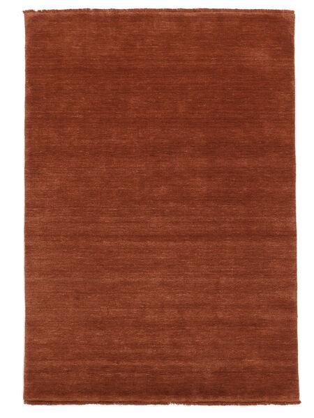 Handloom Fringes - Deep Rust Matto 160X230 Moderni Ruoste/Tummanpunainen (Villa, Intia)