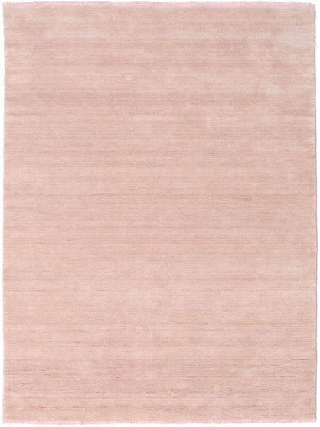 Handloom Fringes - Soft Rose Matto 160X230 Moderni Vaaleanpunainen/Beige (Villa, Intia)