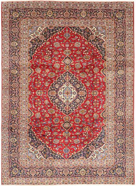 Keshan Matto 245X338 Itämainen Käsinsolmittu Tummanpunainen/Ruoste (Villa, Persia/Iran)
