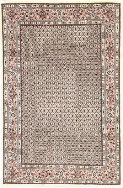 Moud Sherkat Farsh Matto 193X291 Itämainen Käsinsolmittu Vaaleanharmaa/Ruskea (Villa, Persia/Iran)