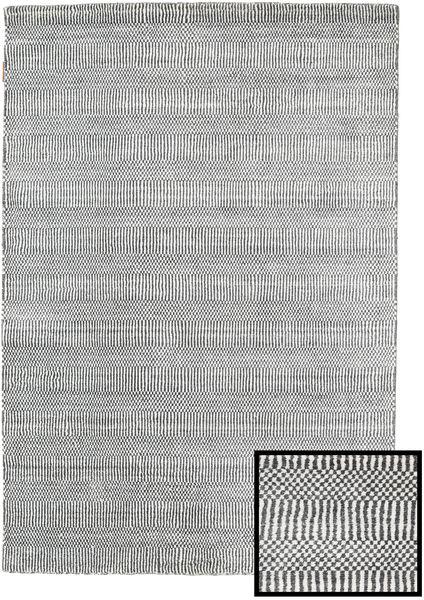 Bamboo Grass - Black_ Harmaa Matto 120X180 Moderni Vaaleanharmaa/Tummanharmaa (Villa/Bambu Silkki, Turkki)