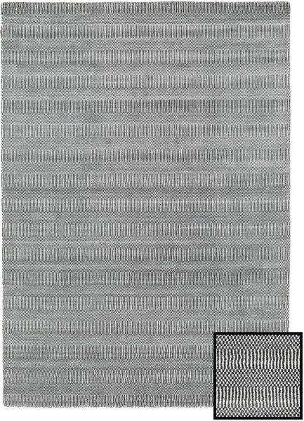 Bamboo Grass - Black_ Harmaa Matto 160X230 Moderni Vaaleanharmaa/Tummanharmaa (Villa/Bambu Silkki, Turkki)