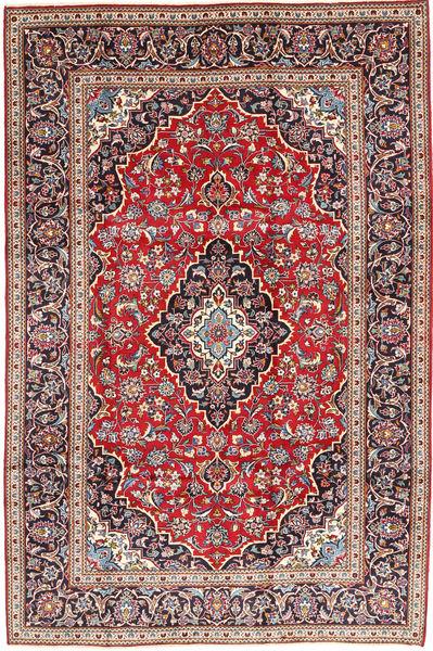 Keshan Matto 203X302 Itämainen Käsinsolmittu Tummanpunainen/Tummanruskea (Villa, Persia/Iran)