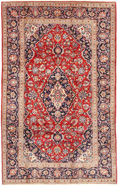 Keshan Matto 198X316 Itämainen Käsinsolmittu Ruoste/Beige (Villa, Persia/Iran)