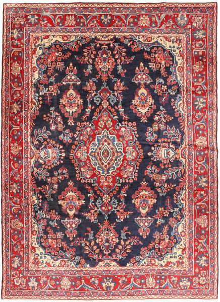 Hamadan Shahrbaf Matto 215X292 Itämainen Käsinsolmittu Ruoste/Tummanharmaa (Villa, Persia/Iran)