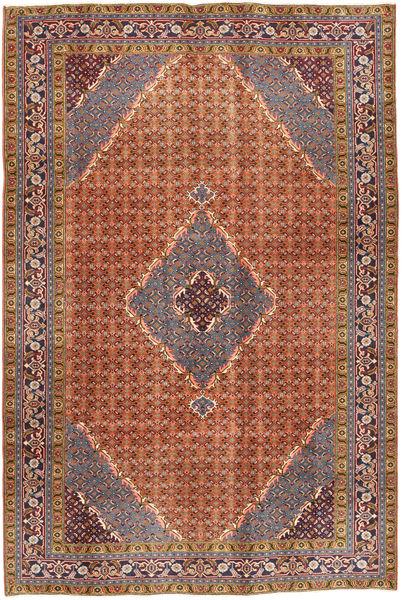Ardebil Matto 195X292 Itämainen Käsinsolmittu Punainen/Tummanpunainen (Villa, Persia/Iran)