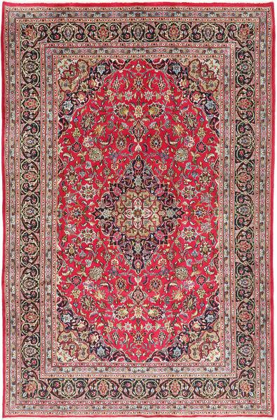 Kashmar Matto 197X300 Itämainen Käsinsolmittu Ruoste/Vaaleanharmaa (Villa, Persia/Iran)