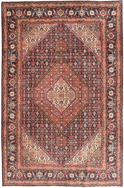 Ardebil Matto 198X297 Itämainen Käsinsolmittu Tummanpunainen/Tummanruskea (Villa, Persia/Iran)