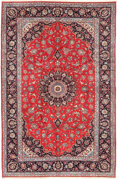 Keshan Matto 200X300 Itämainen Käsinsolmittu Ruskea/Beige (Villa, Persia/Iran)