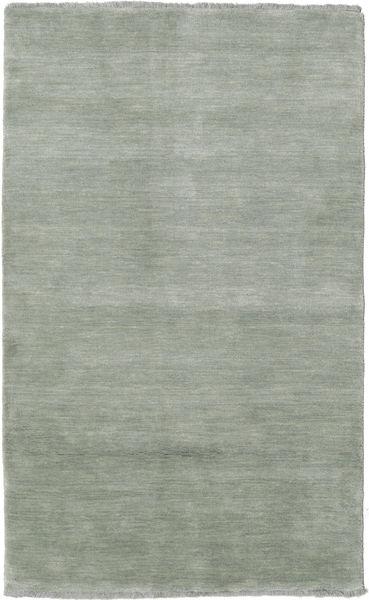 Handloom Fringes - Soft Teal Matto 100X160 Moderni Vaaleanharmaa/Vaaleanvihreä (Villa, Intia)