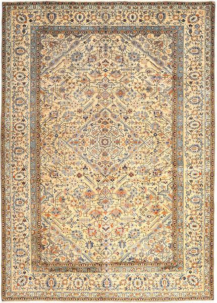 Keshan Matto 296X410 Itämainen Käsinsolmittu Beige/Tummanbeige Isot (Villa, Persia/Iran)