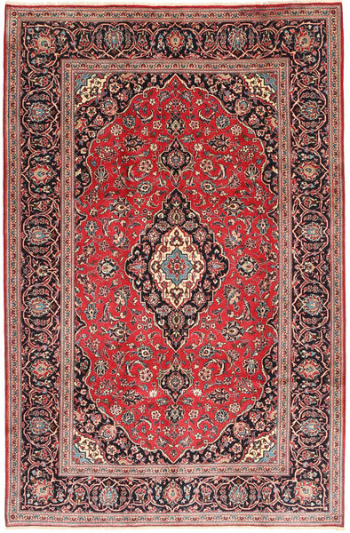 Keshan Matto 194X300 Itämainen Käsinsolmittu Tummanpunainen/Ruoste (Villa, Persia/Iran)