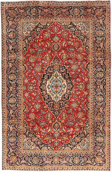 Keshan Matto 195X300 Itämainen Käsinsolmittu Tummanpunainen/Ruoste (Villa, Persia/Iran)