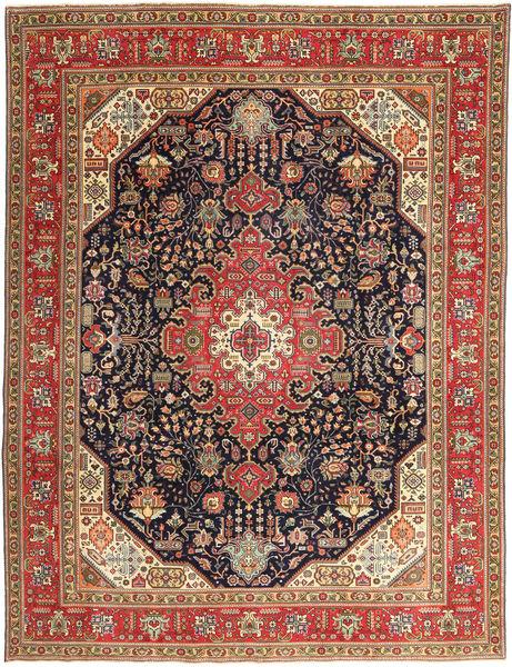 Tabriz Patina Matto 252X327 Itämainen Käsinsolmittu Vaaleanruskea/Tummanpunainen Isot (Villa, Persia/Iran)
