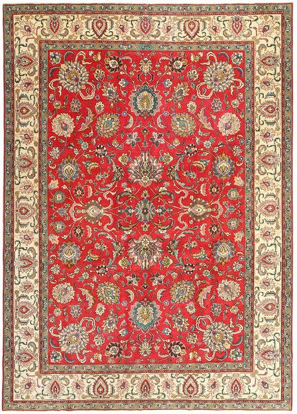 Tabriz Patina Matto 267X370 Itämainen Käsinsolmittu Ruoste/Tummanharmaa Isot (Villa, Persia/Iran)