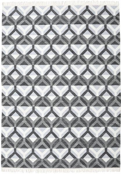 Aino Matto 210X290 Moderni Käsinkudottu Valkoinen/Creme/Vaaleansininen (Villa/Bambu Silkki, Intia)
