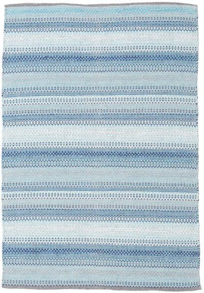Wilma - Sininen Matto 120X180 Moderni Käsinkudottu Vaaleansininen/Beige (Puuvilla, Intia)