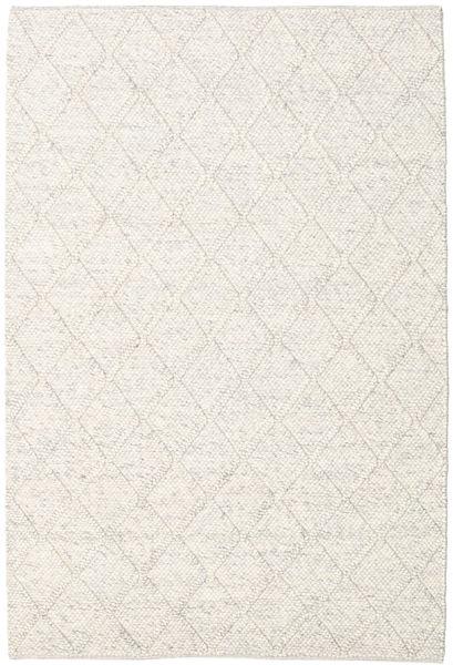 Rut - Ice Grey Melange Matto 160X230 Moderni Käsinkudottu Vaaleanharmaa/Beige/Valkoinen/Creme (Villa, Intia)