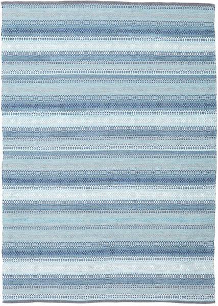 Wilma - Sininen Matto 170X240 Moderni Käsinkudottu Vaaleansininen (Puuvilla, Intia)