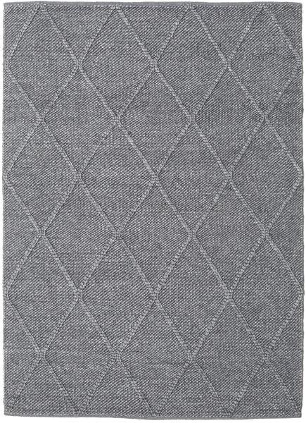Svea - Charcoal Matto 140X200 Moderni Käsinkudottu Vaaleanharmaa/Tummanharmaa (Villa, Intia)