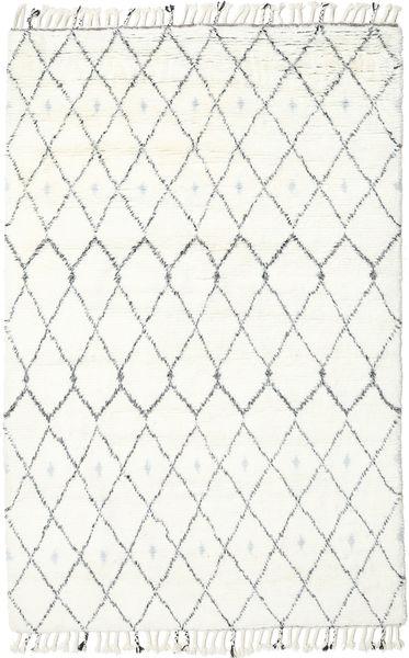 Sauda - Natural Harmaa Matto 200X300 Moderni Käsinsolmittu Beige/Valkoinen/Creme (Villa, Intia)