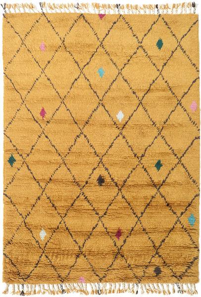 Alta - Kulta Matto 160X230 Moderni Käsinsolmittu Vaaleanruskea/Keltainen (Villa, Intia)