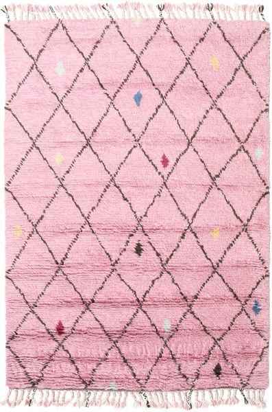 Alta - Magenta Matto 160X230 Moderni Käsinsolmittu Vaaleanpunainen (Villa, Intia)