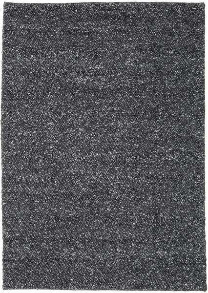 Bubbles - Melange Musta Matto 170X240 Moderni Tummanharmaa (Villa, Intia)