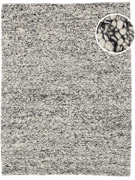 Bubbles - Melange Harmaa Matto 300X400 Moderni Vaaleanharmaa/Siniturkoosi Isot (Villa, Intia)