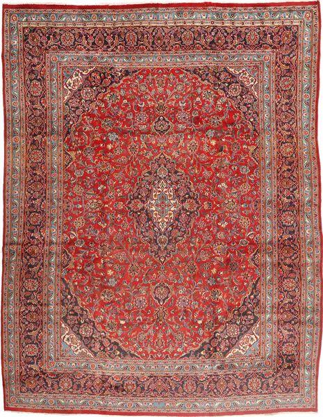 Mashad Matto 305X395 Itämainen Käsinsolmittu Tummanpunainen/Ruskea Isot (Villa, Persia/Iran)