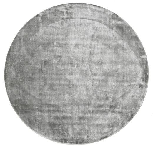 Broadway - Misty Grey Matto Ø 300 Moderni Pyöreä Vaaleanharmaa/Tummanharmaa Isot ( Intia)