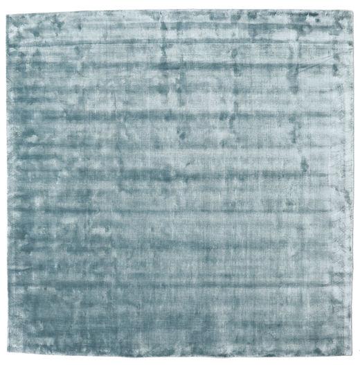 Broadway - Ice Blue Matto 250X250 Moderni Neliö Vaaleansininen Isot ( Intia)