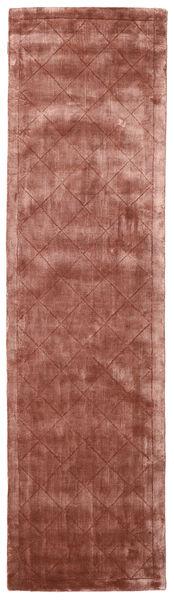 Brooklyn - Pale Copper Matto 80X300 Moderni Käytävämatto Tummanpunainen/Vaaleanruskea ( Intia)