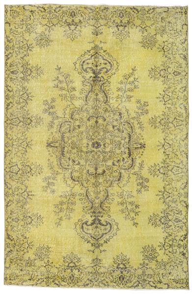 Colored Vintage Matto 175X269 Moderni Käsinsolmittu Keltainen/Vaaleanvihreä/Oliivinvihreä (Villa, Turkki)