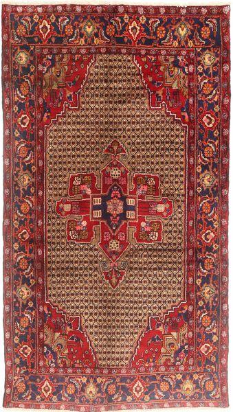 Koliai Matto 150X275 Itämainen Käsinsolmittu Käytävämatto Tummanpunainen/Vaaleanruskea (Villa, Persia/Iran)