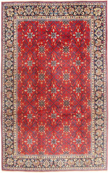 Najafabad Matto 197X307 Itämainen Käsinsolmittu Ruoste/Tummanruskea (Villa, Persia/Iran)