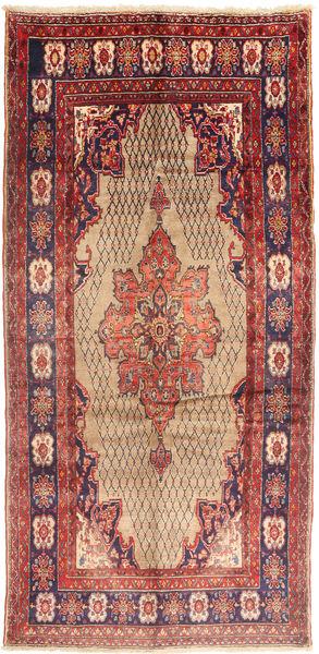 Koliai Matto 150X315 Itämainen Käsinsolmittu Käytävämatto Tummanpunainen/Ruoste (Villa, Persia/Iran)