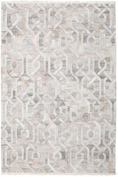 Ulkomatto Trinny - Ruskea/Nature Matto 200X300 Moderni Käsinkudottu Vaaleanharmaa ( Intia)